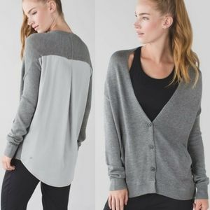 LULULEMON Cardi In The Front Cashmere Cardigan